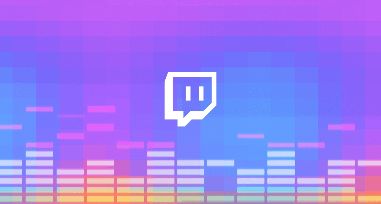 Twitch logo musical