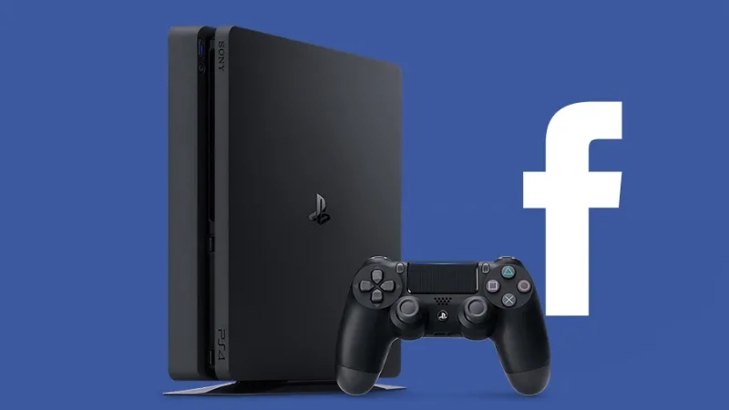 Facebook PlayStation 4