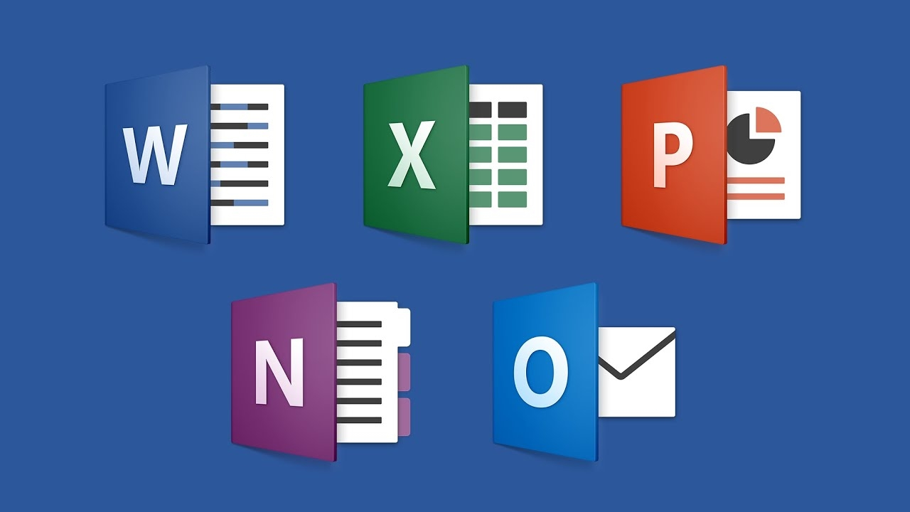 microsoft office ícones