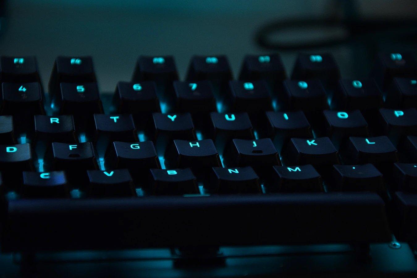 Computador teclado