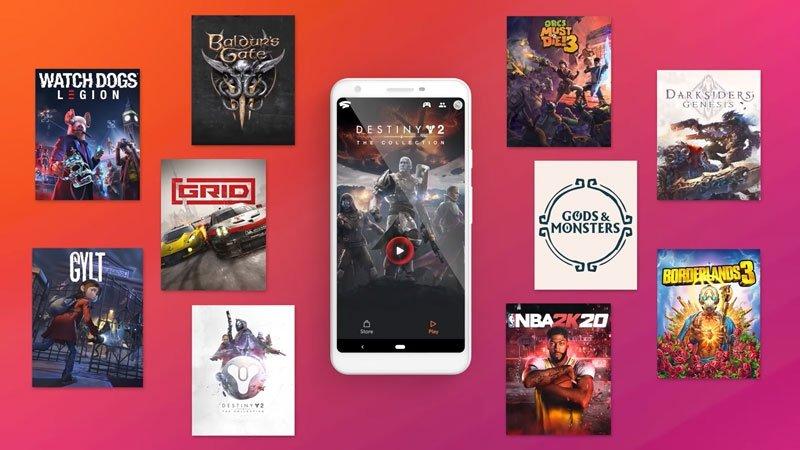 Google Stadia jogos para compra