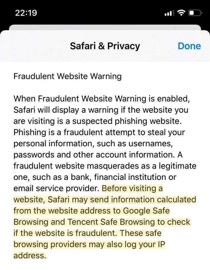 envio dados servidores tencent