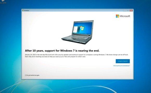 exemplo de popup Windows 7