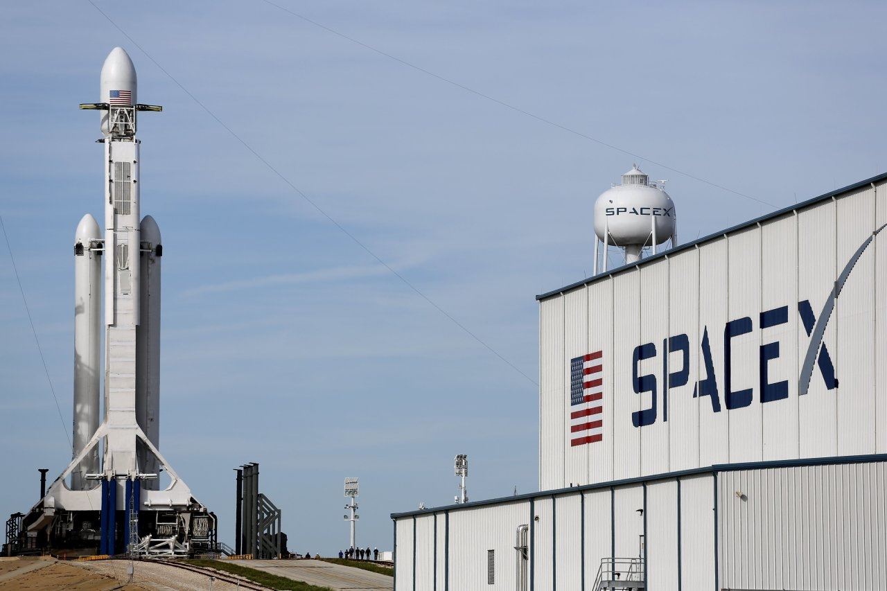 spacex area