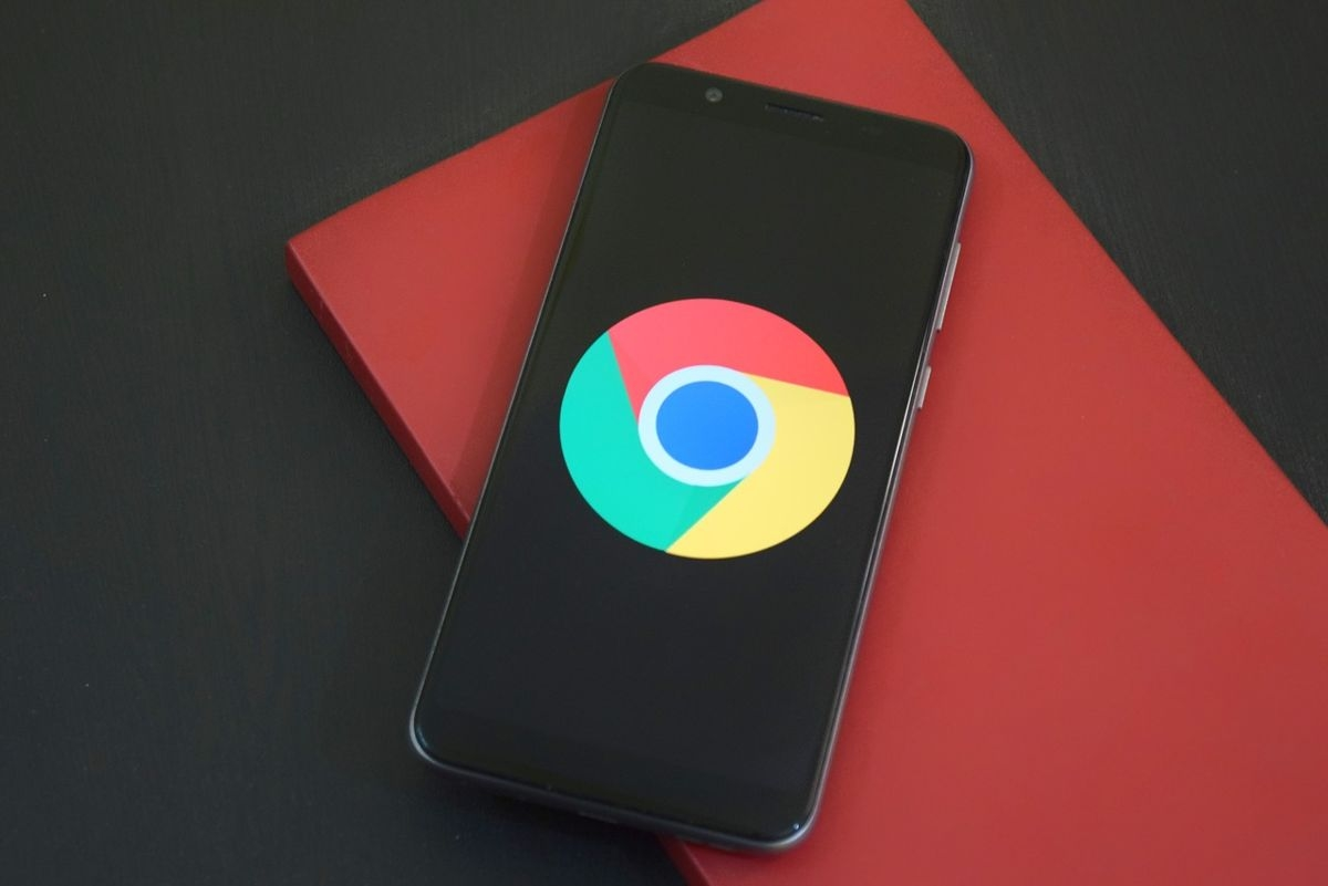 Chrome Android smartphone