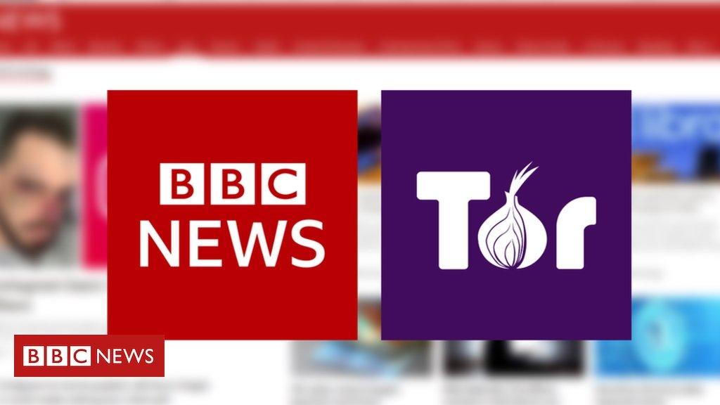 BBC news na rede tor