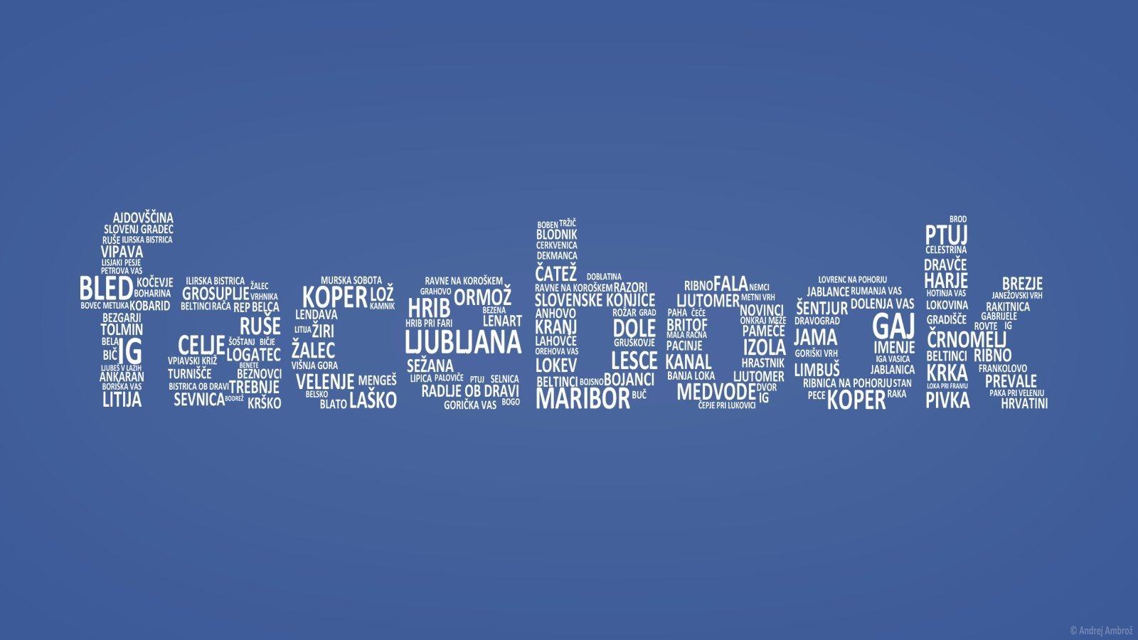 Facebook logo com texto