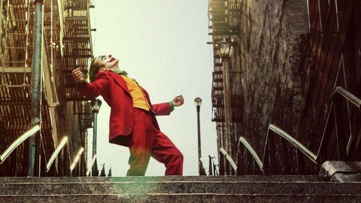 joker dança escadaria