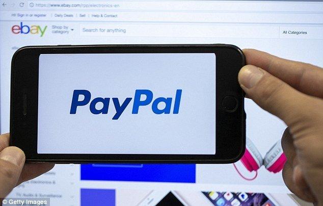 PayPal aplicação no ebay