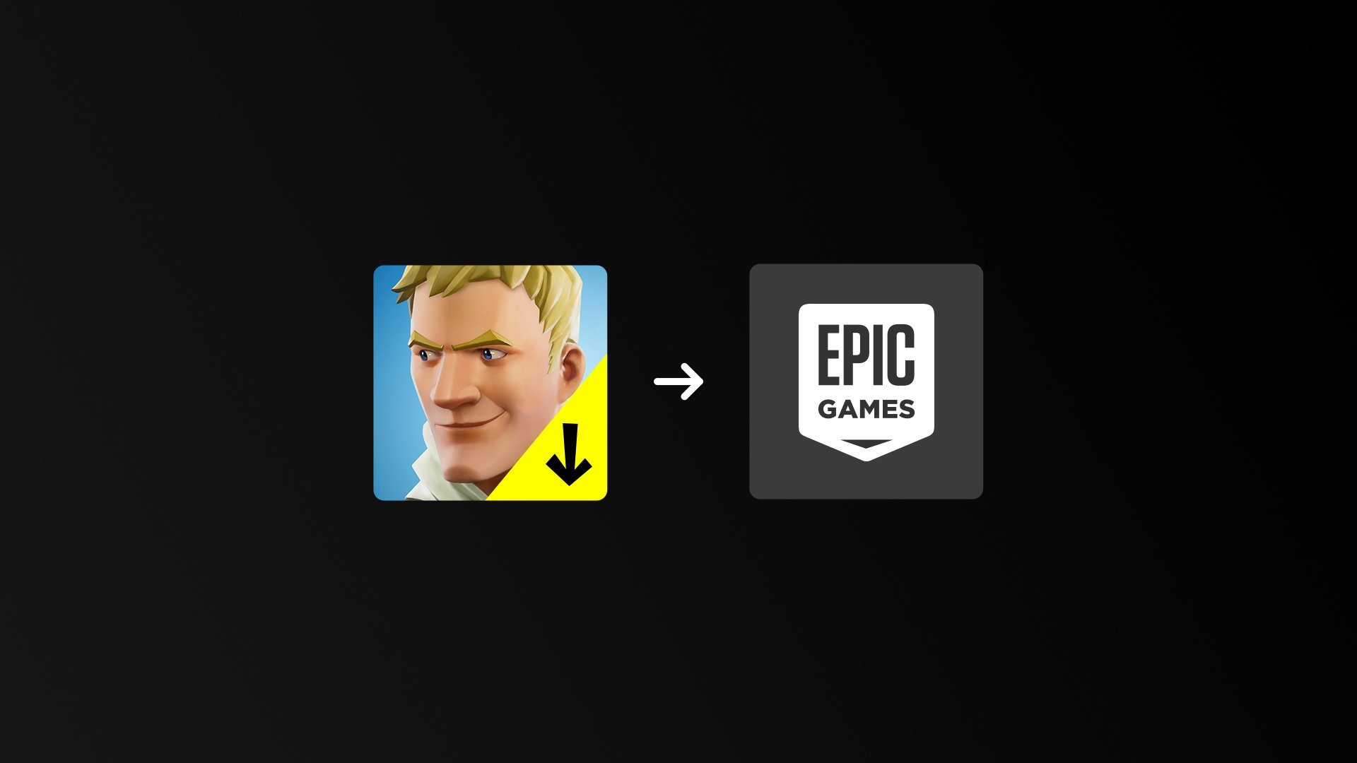 Fortnite Epic Games app android