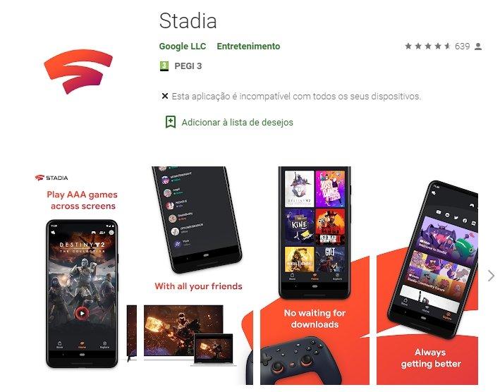 Google play stadia