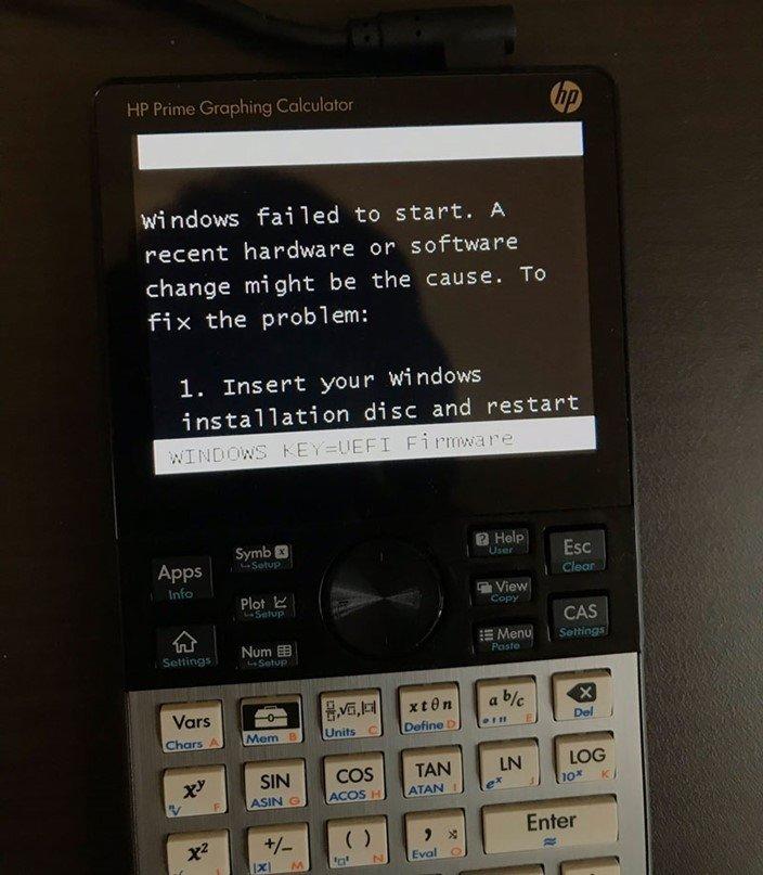 erros windows 10