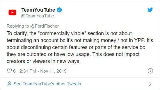 explicação youtube
