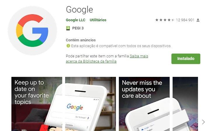 google app play store