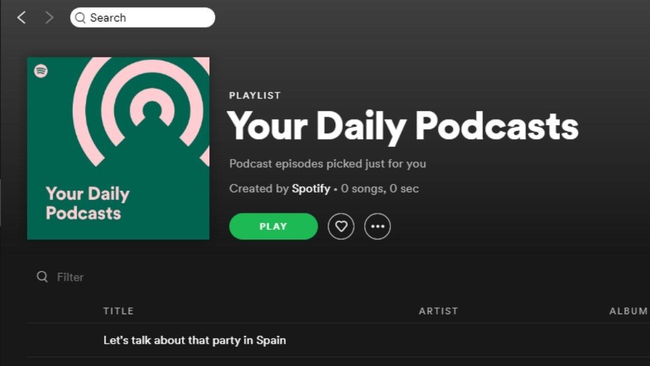spotify app playlist