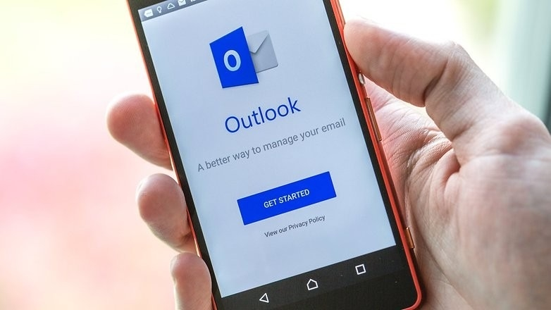 outlook no android