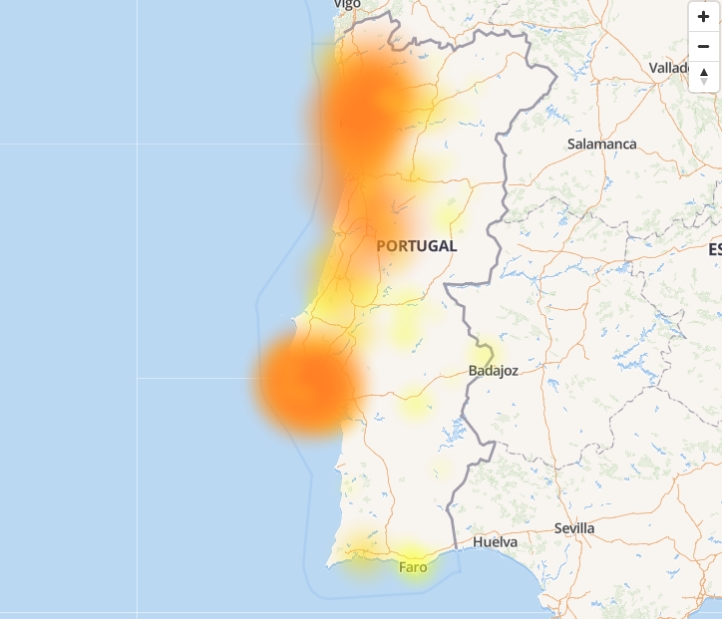falhas portugal