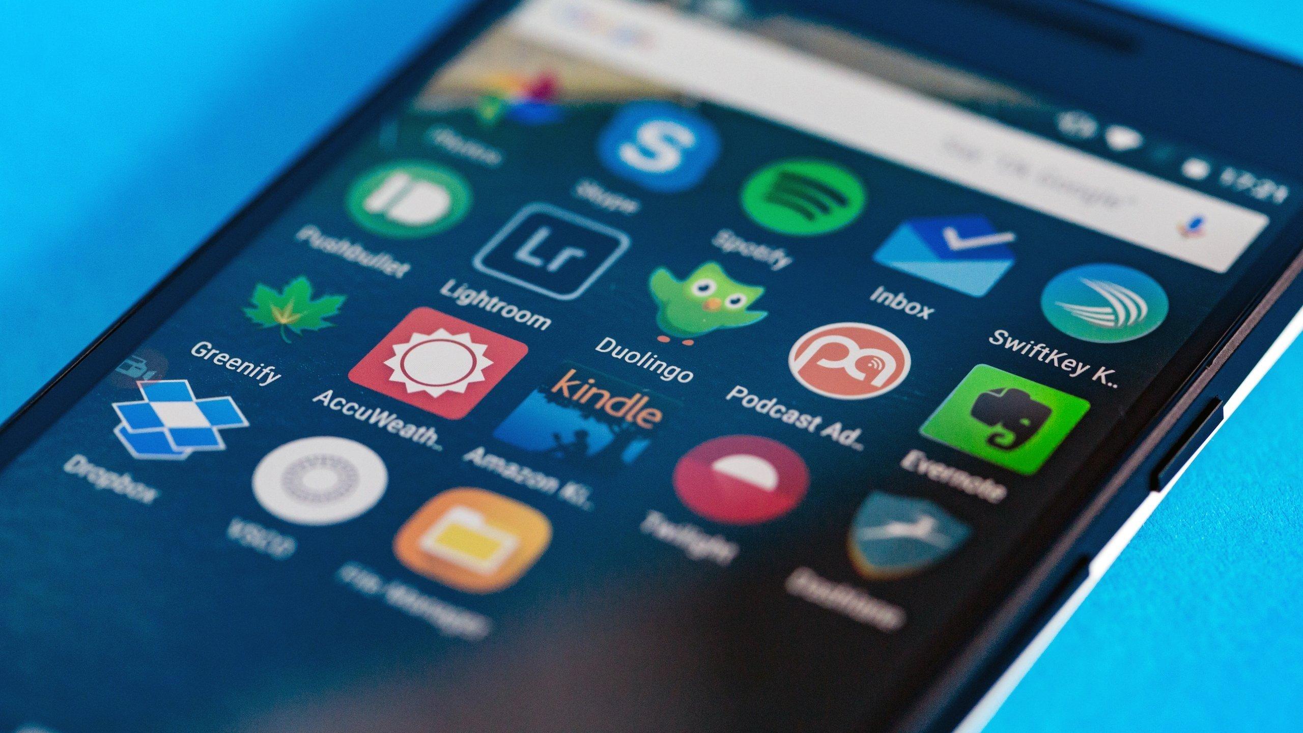 aplicações smartphone