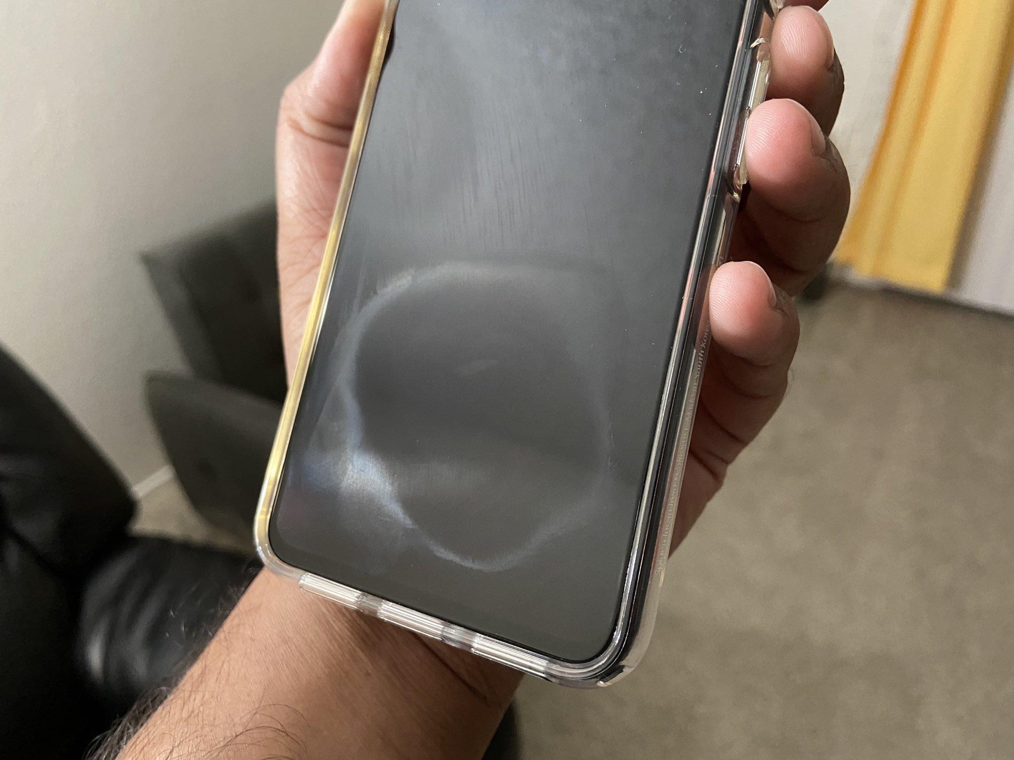pixel 4 marca ecrã