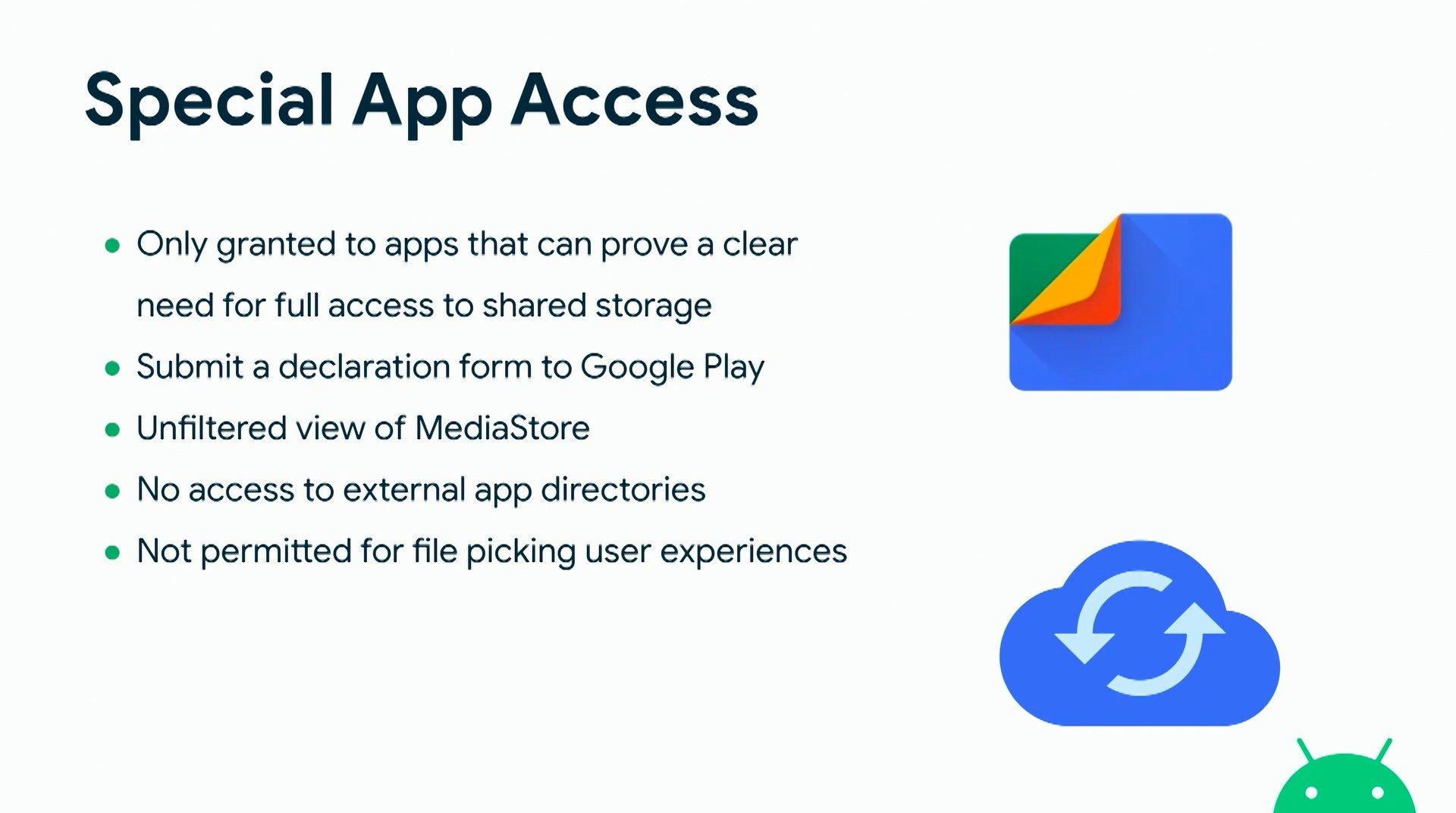 funcionalidade armazenamento android 11