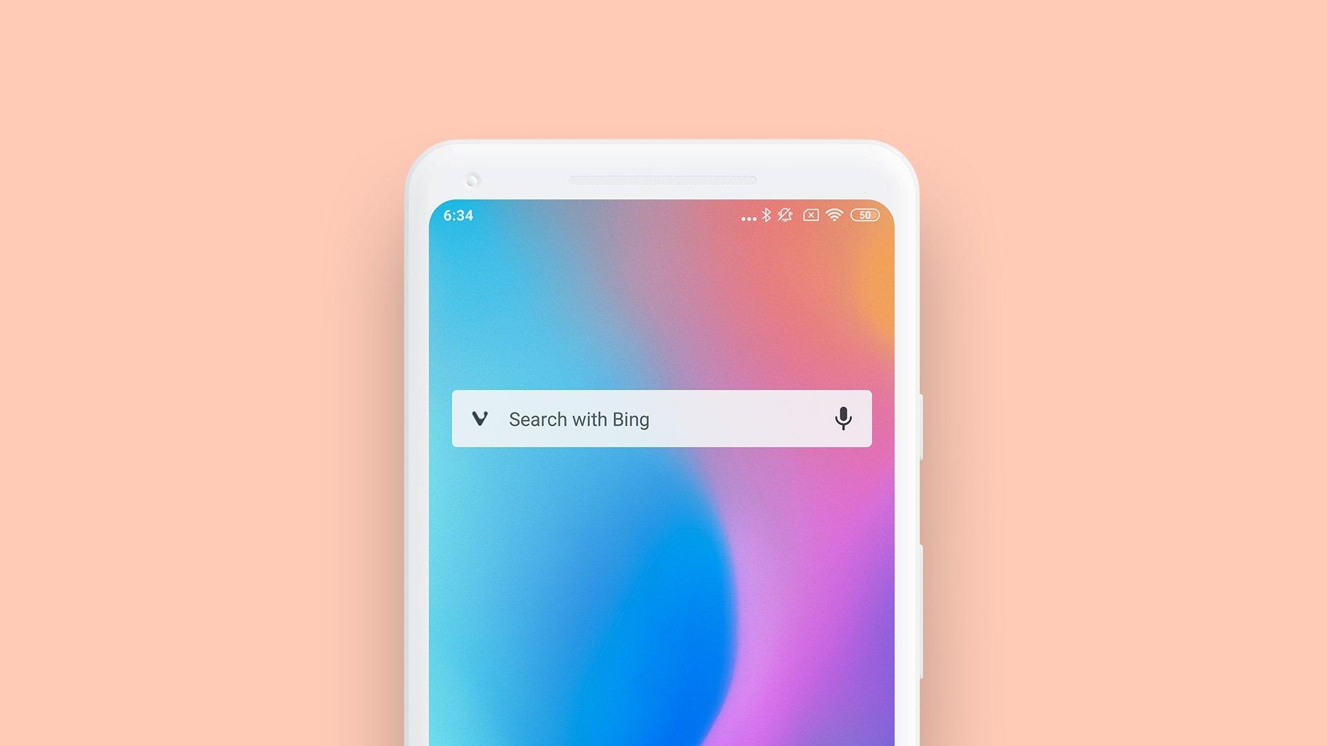 widget pesquisa