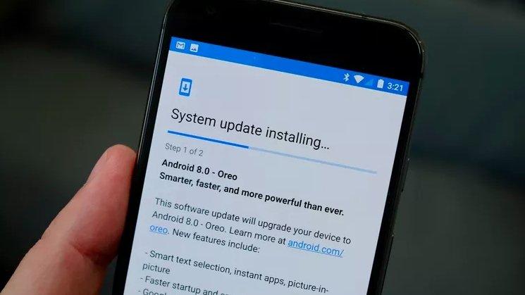 Google android atualização