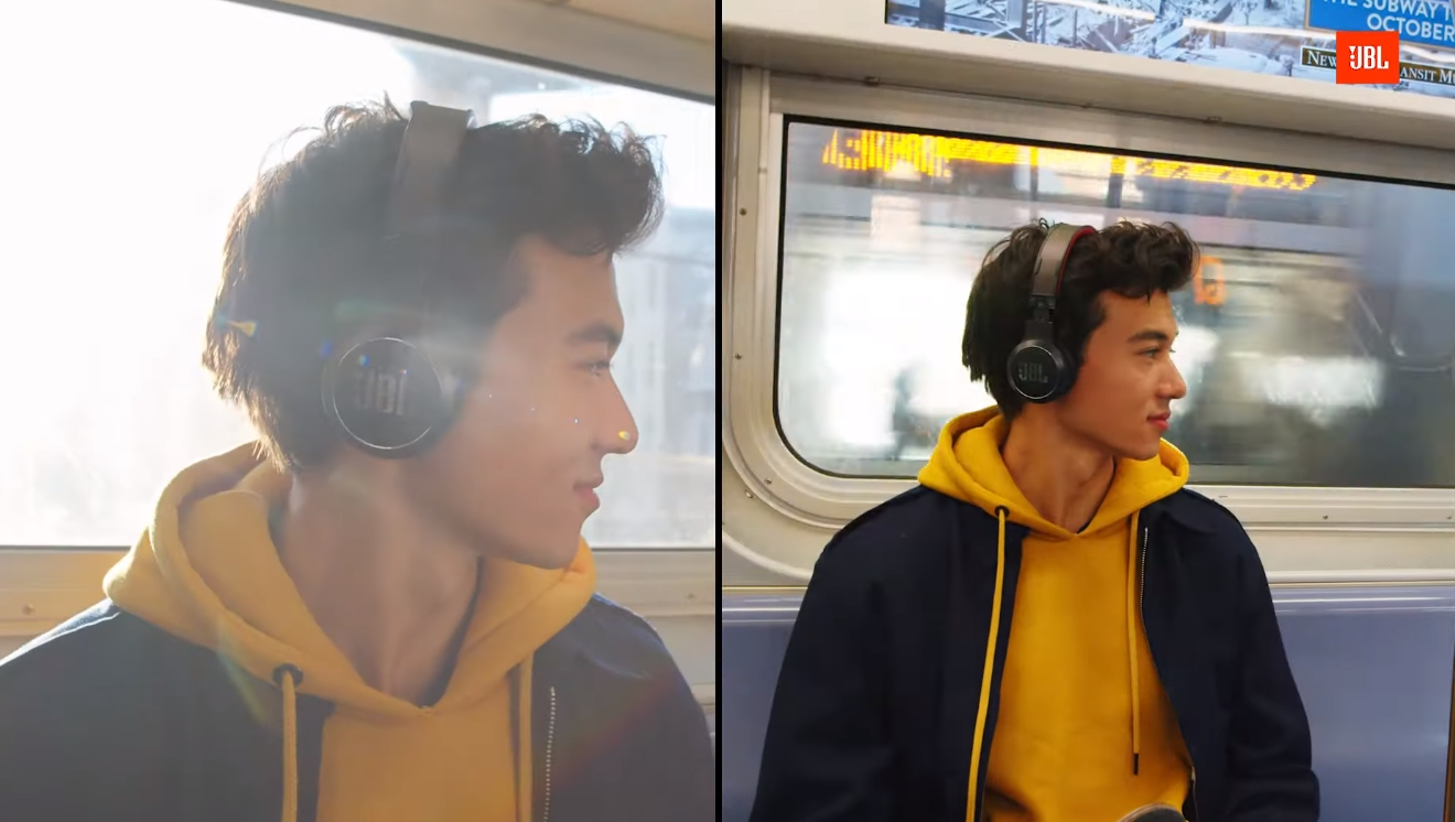headphones JBL carregamento solar