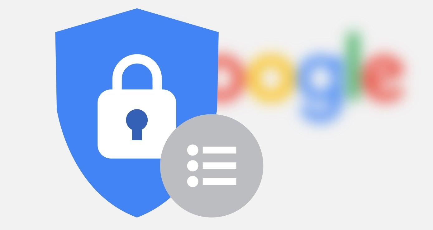 google segurança