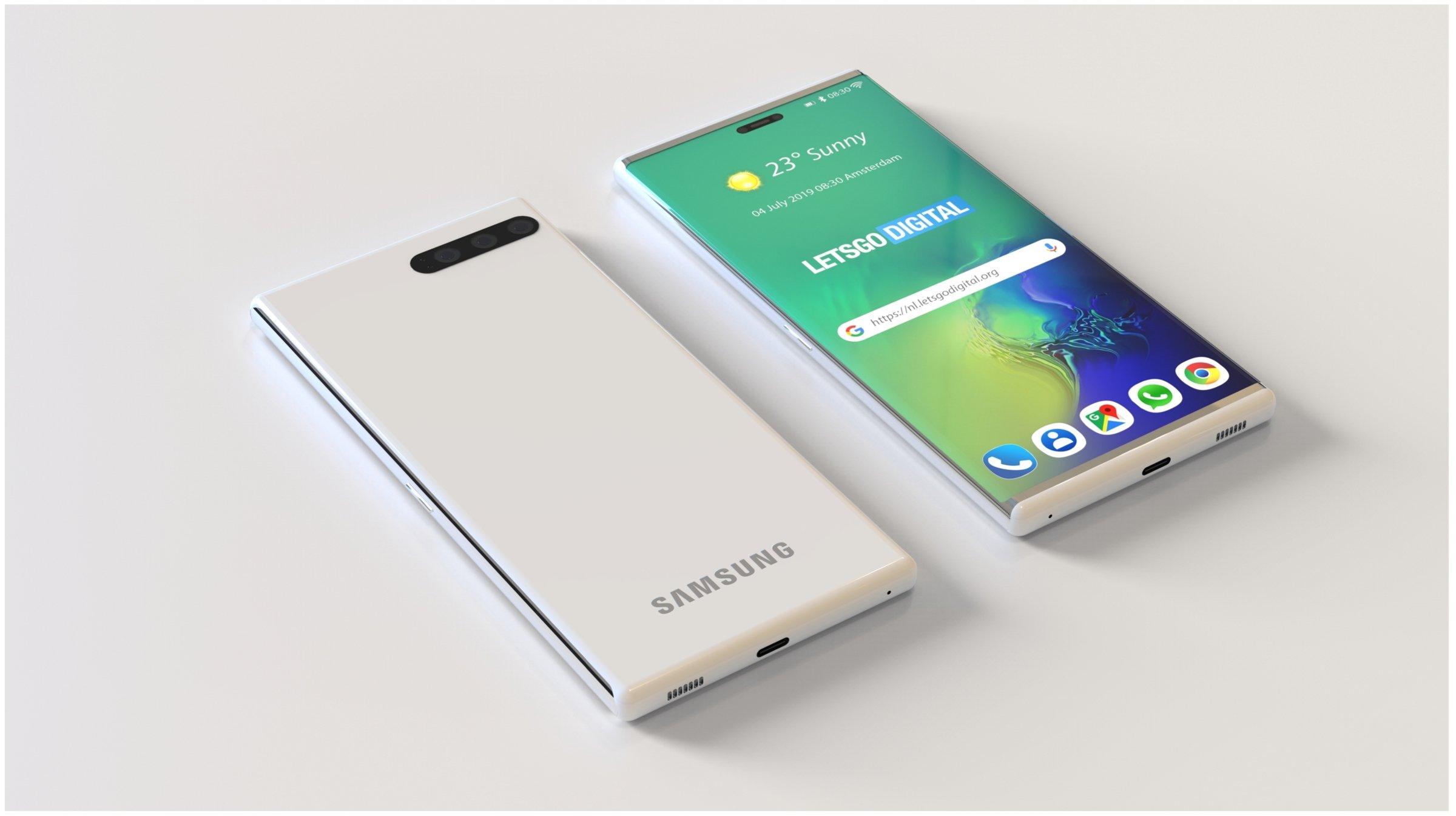 Samsung galaxy modelo 3d