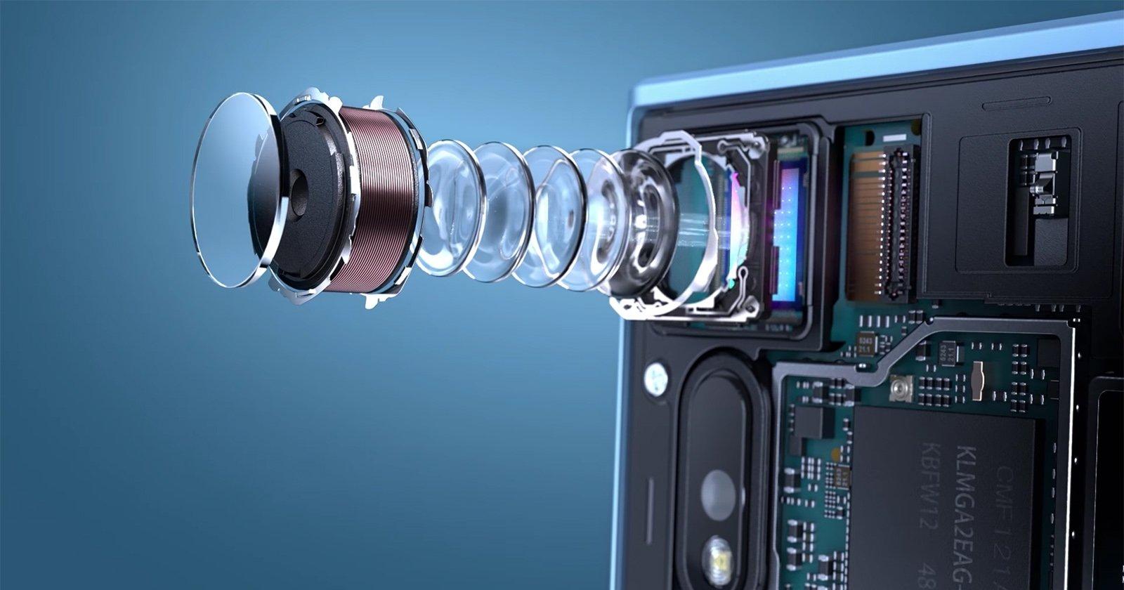smartphone câmera sensor