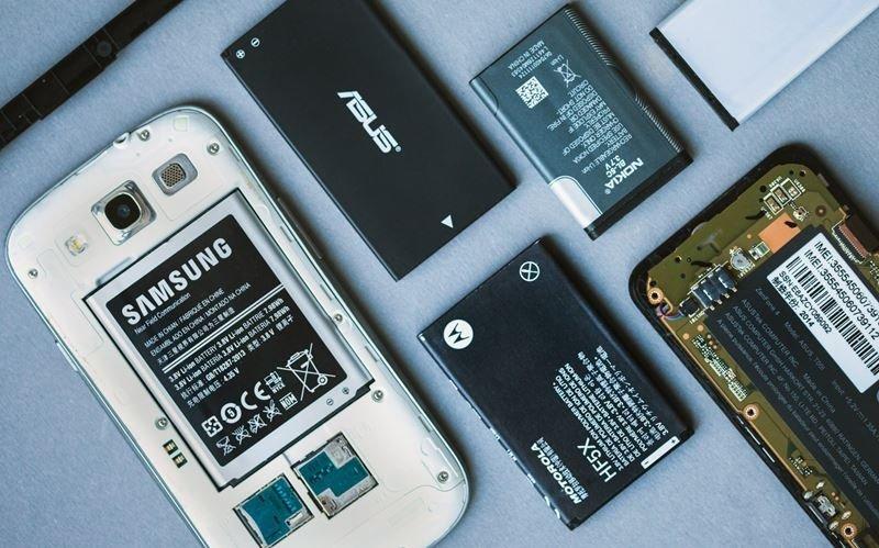 baterias smartphones