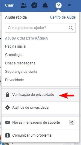 ferramenta verificação privacidade