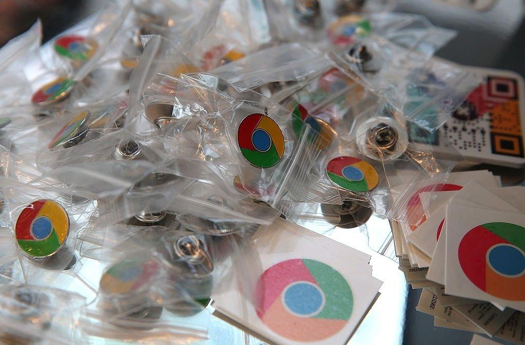 Google chrome stickers