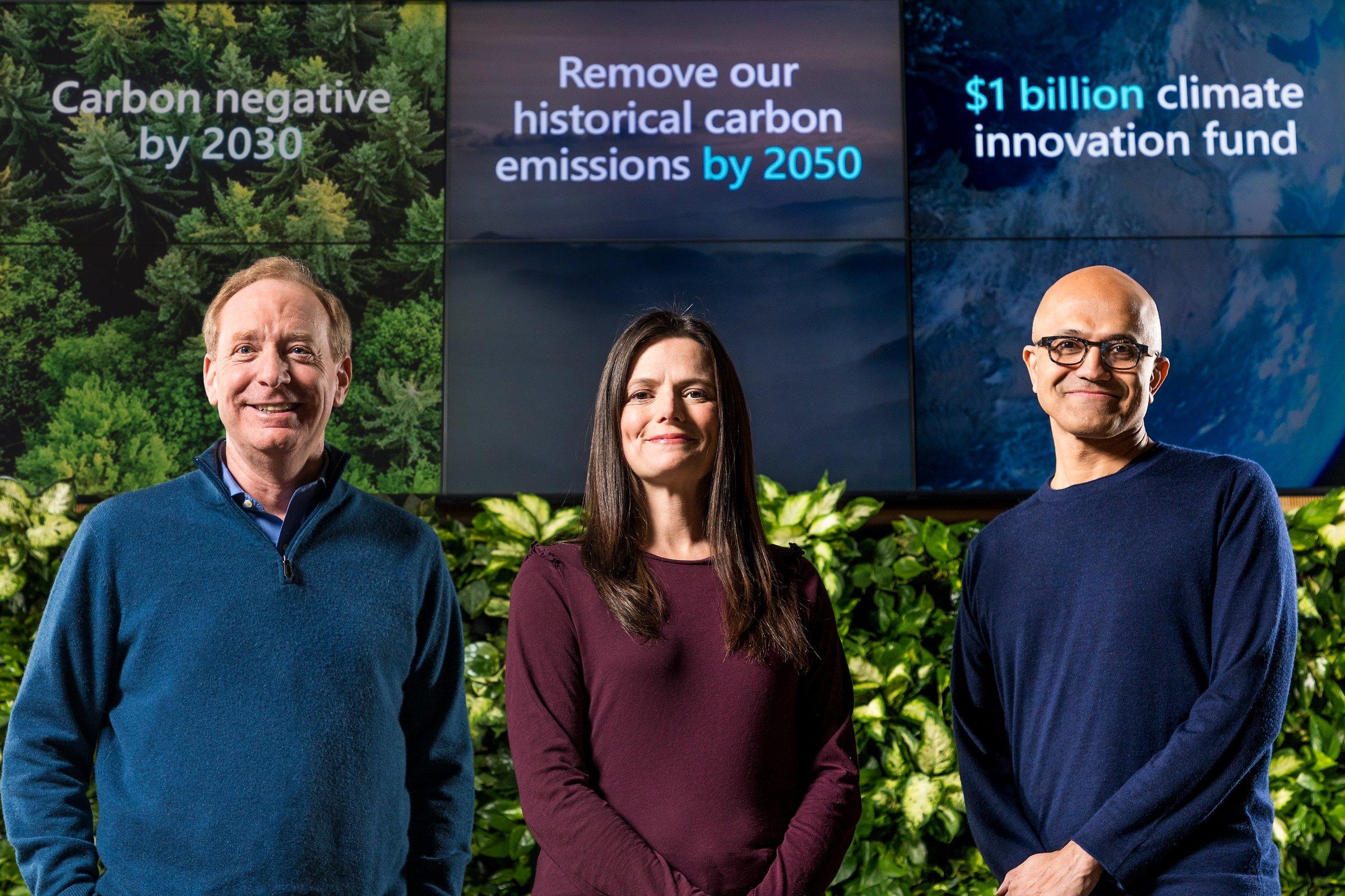 Microsoft apoio ambiental