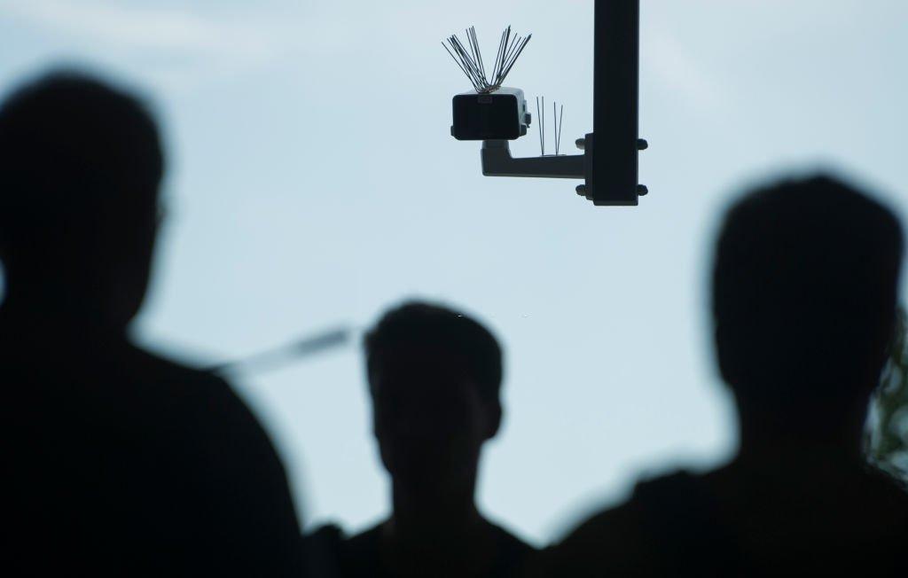 câmara de reconhecimento facial