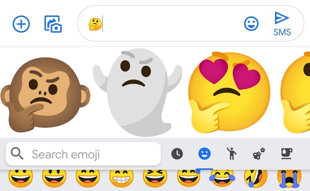 emojis diferentes