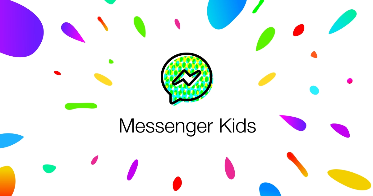 Logotipo do Messenger Kids