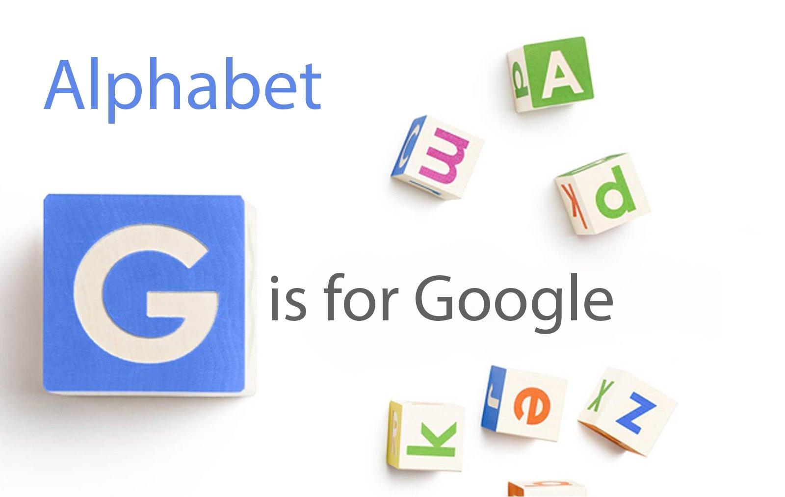 Google e a empresa mãe alphabet