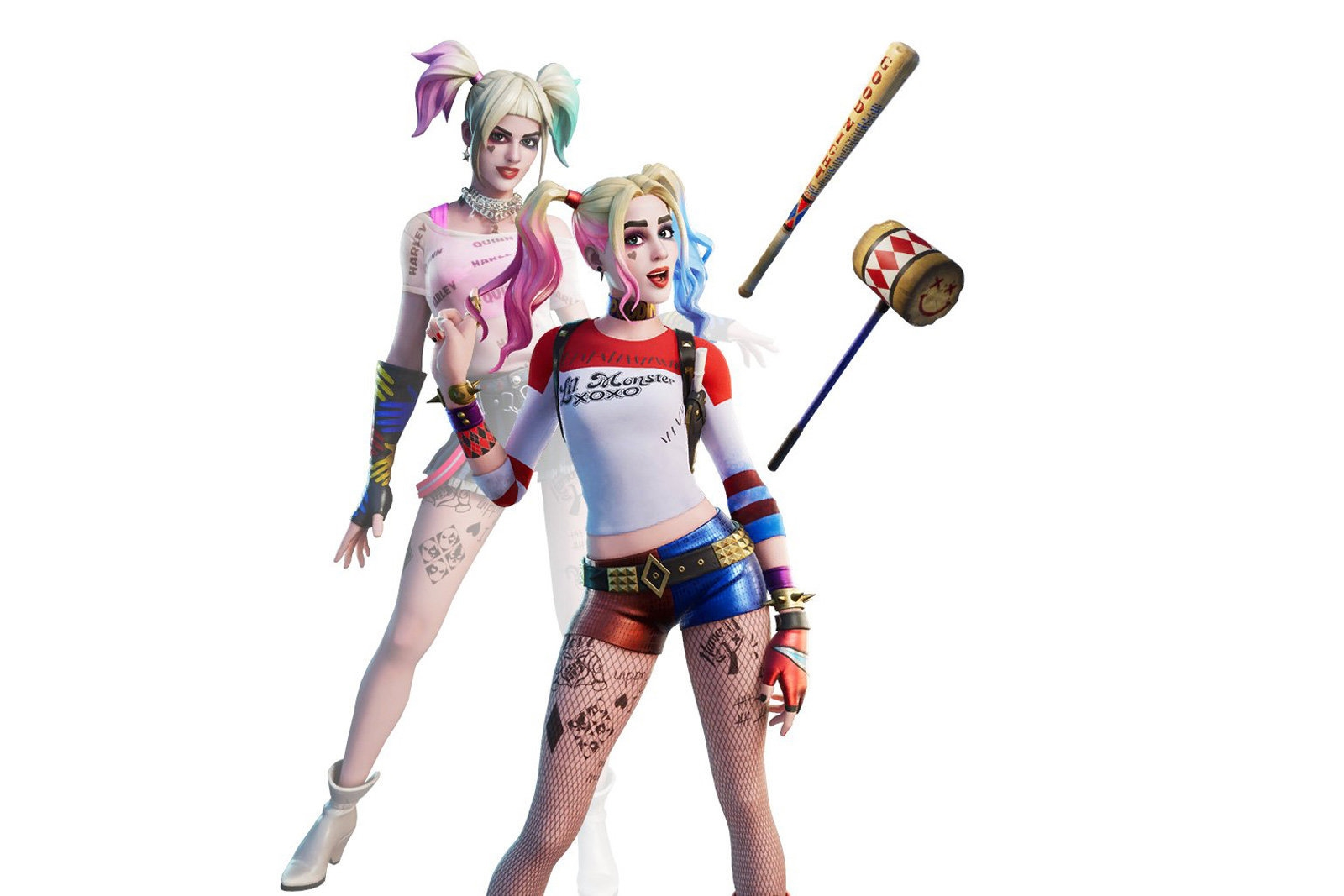 Harley Quinn no Fortnite
