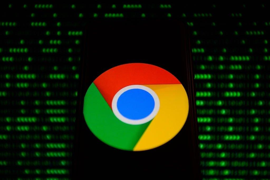 Google Chrome num smartphone