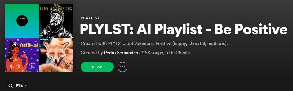 Músicas positivas spotify