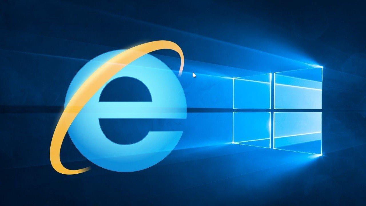Internet Explorer sobre o Windows