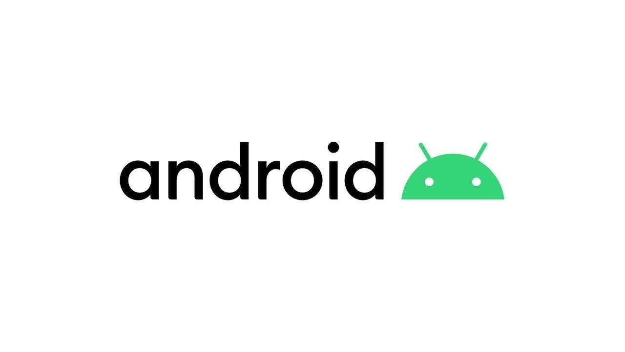 Logo do Android sobre fundo branco