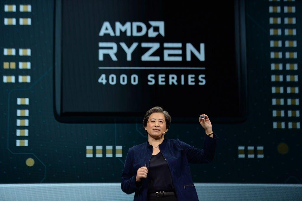 AMD evento apresentação ryzen 4000