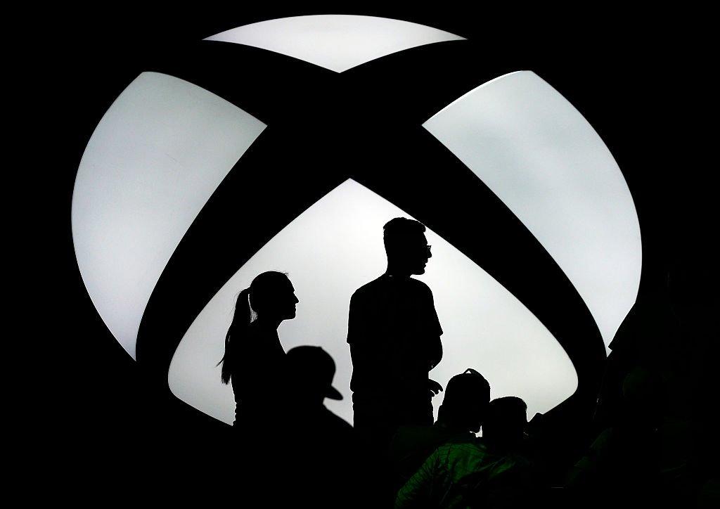 evento da xbox com o logo em destaque