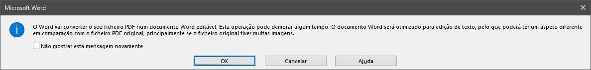 converter PDF no Word