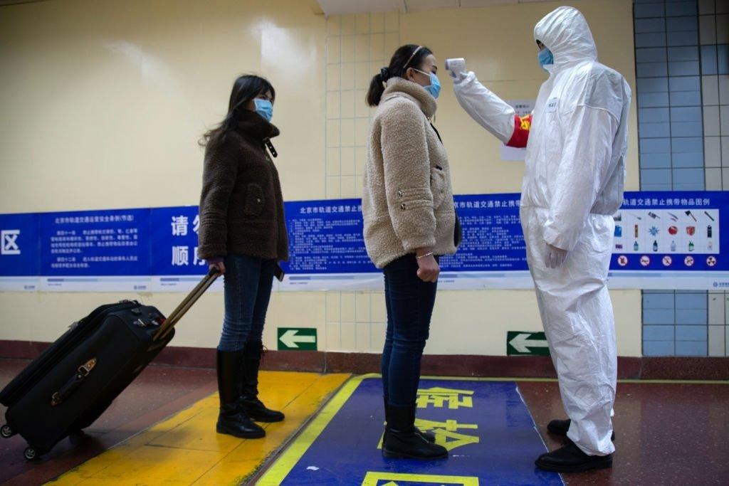 Pessoas a serem analisadas pela presença de virus