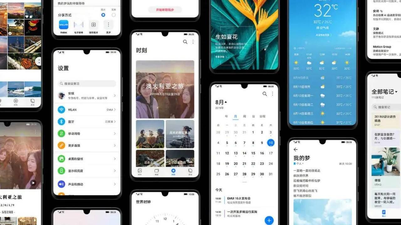 EMUI 10 da Huawei