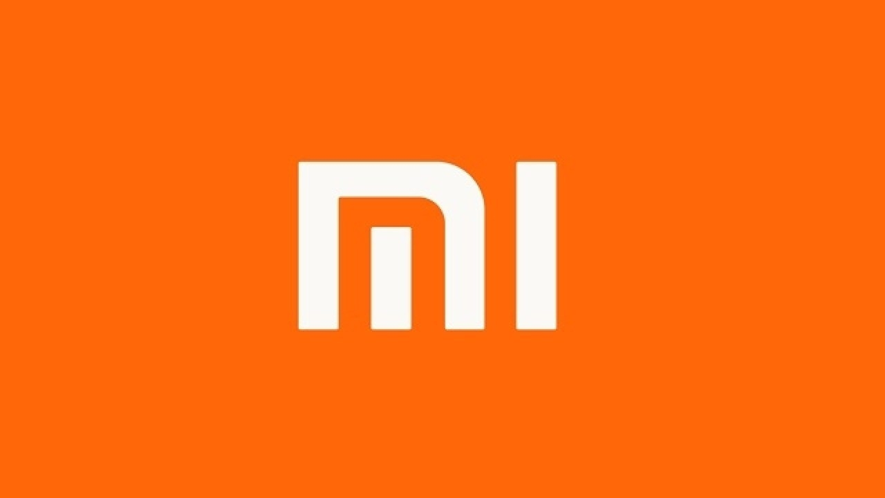 logo da Xiaomi em fundo laranja