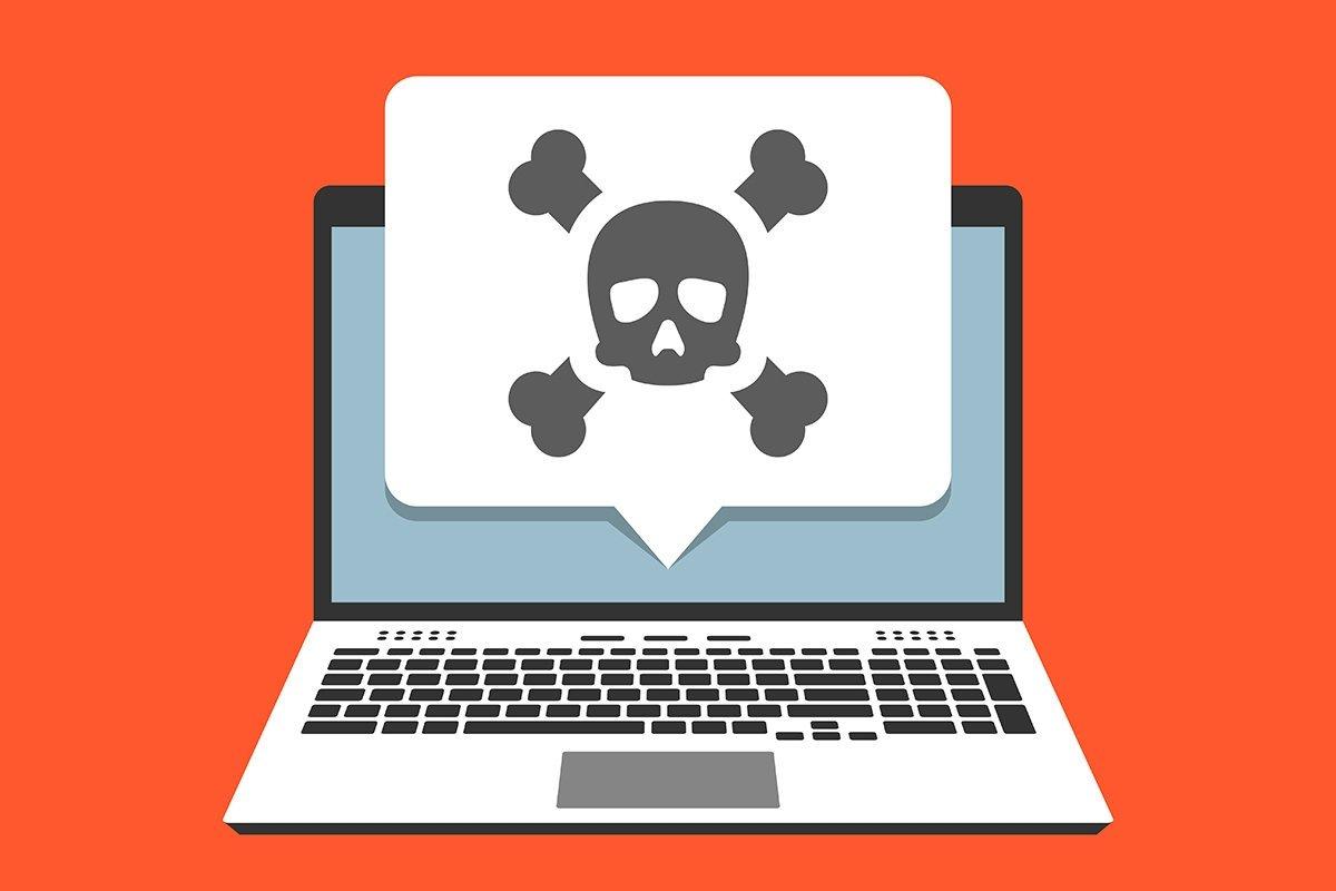 sistema com malware